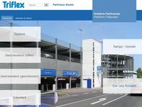 Parkhäuser online gestalten