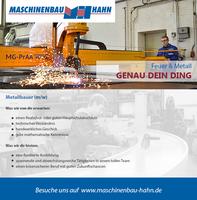Maschinenbau Hahn: Werkstoff- und Produktionstechnik