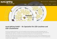 euroLighting geht mit neuer Webseite online