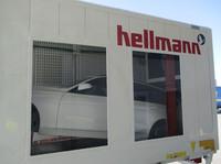 Hellmann etabliert neue Verladetechnik für Komplettfahrzeuge zwischen Asien und Europa