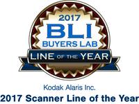 Kodak Alaris zum zweiten Mal in Folge mit dem Buyers Lab Scanner Line of the Year Award 2017 ausgezeichnet