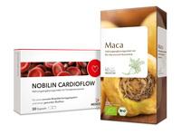 Cardioflow-Maca-Duo: Blutfuss und Leistungskraft