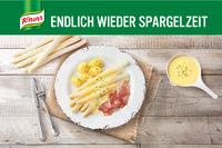 Spargel ist spitze! Knorr startet die Saison 2017