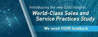 Neue Studie: Verkauf und Service erstmals gemeinsam im Fokus - Teilnehmer gesucht!