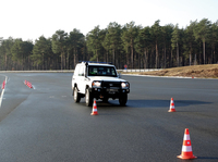 F7-TLC700 successfully passes driving dynamics and brake test