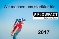 Innovationen in 2017 für FLOWFACT-Kunden