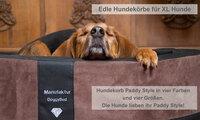 Edler Hundekorb Paddy Style für S-XL Hunde!