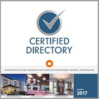 Certified veröffentlicht Handbuch zertifizierter Hotels