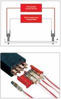 Vierleitermessung in der elektrischen Meßtechnik