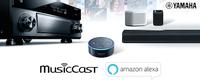 Yamaha MusicCast hört aufs Wort: Amazon Alexa Sprachsteuerung für gesamtes Multiroom-Portfolio