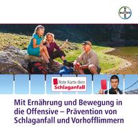 """Neue Broschüre """"Mit Ernährung und Bewegung in die Offensive - Prävention von Schlaganfall und Vorhofflimmern"""""""
