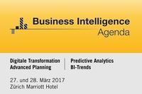 5. Business Intelligence Agenda am 28. März in Zürich