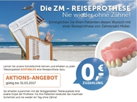 Zahnersatz Müller: Die Reiseprothese