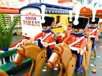 Willkommen im PLAYMOBIL-Zirkus auf Burg Scharfenstein