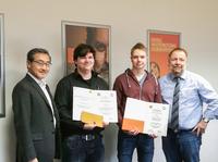 Auszubildende von TA Triumph-Adler siegen beim Leistungswettbewerb des Deutschen Handwerks