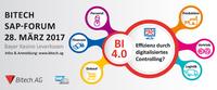 Bitech SAP-Forum 2017: SAP Anwender diskutieren BI 4.0