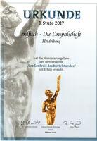 """Drupal Experte für """"Großer Preis des Mittelstandes 2017"""" nominiert"""