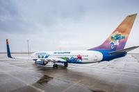 Die Schlümpfe kommen: SunExpress wird zur schlumpfigsten Airline Deutschlands