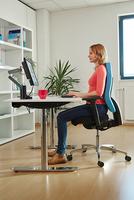 """Ein ergonomischer Arbeitsplatz hilft bei """"Rücken"""""""