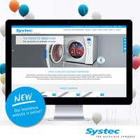 Die neue Webseite von Systec GmbH ist online