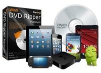 Aktualisiert! WinX DVD Ripper Platinum 8.0 für neue DVDs mit 99 Titeln, Trainings-DVDs und mehr