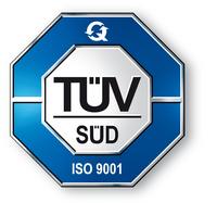 PRUFTECHNIK now ISO 9001 certificated