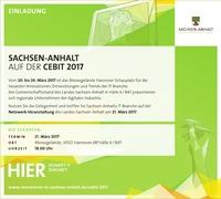 Einladung zum Besuch des Landesstandes auf der CeBIT 2017