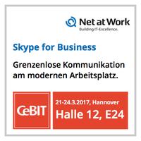 Net at Work auf der CeBIT: Keine Grenzen am modernen Arbeitsplatz