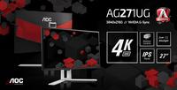 High-End-Gaming: AOC AGON Monitor mit 4K-IPS-Display und NVIDIA G-SYNC