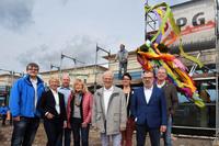 Energiegenossenschaft Rhein-Ruhr feiert Richtfest für neuen Firmensitz.