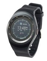 2in1-Handyuhr und Smartwatch mit rundem Display PW-410, Bluetooth 3.0