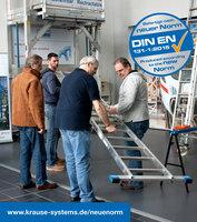 KRAUSE informiert: Die neue Norm DIN EN 131-1 für Leitern