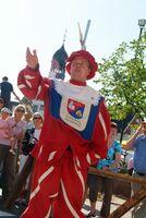 Leider nur alle drei Jahre mittelalterliches Spektakel in Lingen