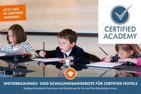 Certified Academy mit Schulungen für Hotels und Locations