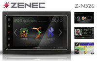 Sorgt für optimale Smartphone-Integration: ZENECs Infotainer Z-N326