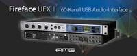 RME Fireface UFX II: Nachfolger des erfolgreichen Audio-Interfaces Fireface UFX mit überarbeiteter Technik und DURec jetzt erhältlich