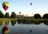 Giganten am Himmel: Im Heißluftballon über dem Mississippi schweben