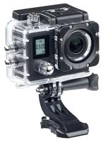 Somikon Einsteiger-4K-Action-Cam mit 2 Displays, Full HD