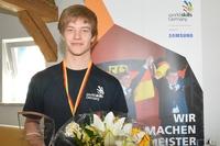 Bester Technikallrounder: Thüringer Darius Fauer ist Deutscher Champion der Polymechaniker