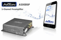 AXTON A500DSP: Plug & Play Preamplifier with Smartphone App