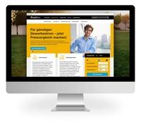goldgas Websiterelaunch - Gas und Strom aus einer Hand
