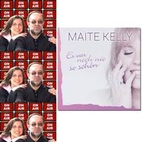 Roland Rube und Ariane Kranz On Air mit Maite Kelly