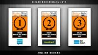 Brokerwahl 2017 – das sind die Sieger