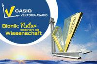 Sieger des bundesweiten Schülerwettbewerbs Casio Vektoria Award zum Thema Bionik gekürt