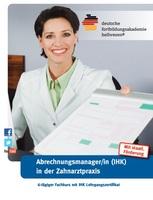 Fortbildung zum/r Abrechnungsmanager/in IHK für die Zahnarztpraxis