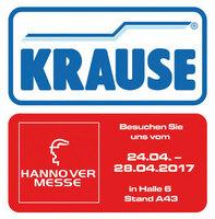 Hannover Messe 2017: KRAUSE zeigt passgenaue Sonderlösungen und innovative Steigtechnik
