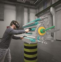 Augmented und Virtual Reality: Schlüsseltechnologien für die Unterstützung von Werkern