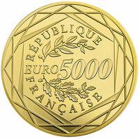 Franzosen geben 5000 Euro Goldmünze heraus - für 5000 Euro