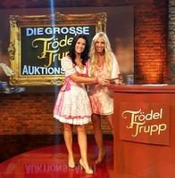 Antonia aus Tirol und Loona bei RTL2 Trödeltrupp Auktion!