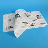 Zeitungsdruck - Moderne To Go Verpackungen im Oldschool Look